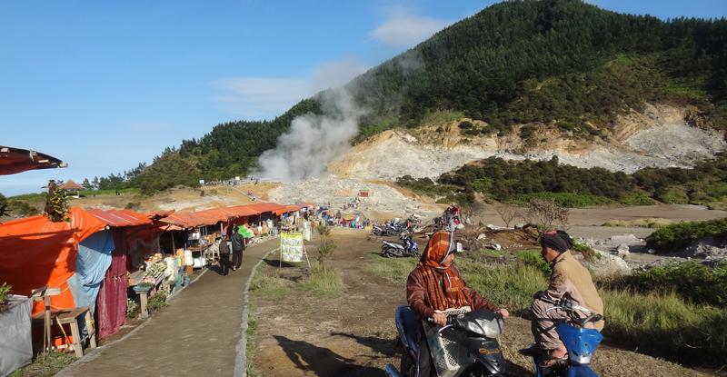 Dieng Plateau - Kawah Sikidang