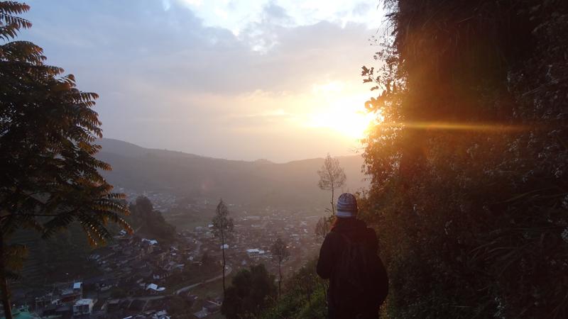Dieng Plateau - Lever du soleil