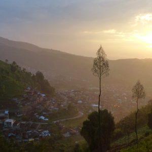 Dieng Plateau - Sur l'île de Java en Indonésie