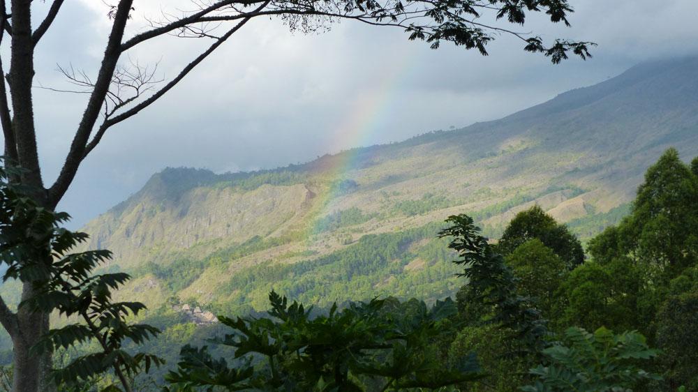 Vue du Manulalu - Bajawa