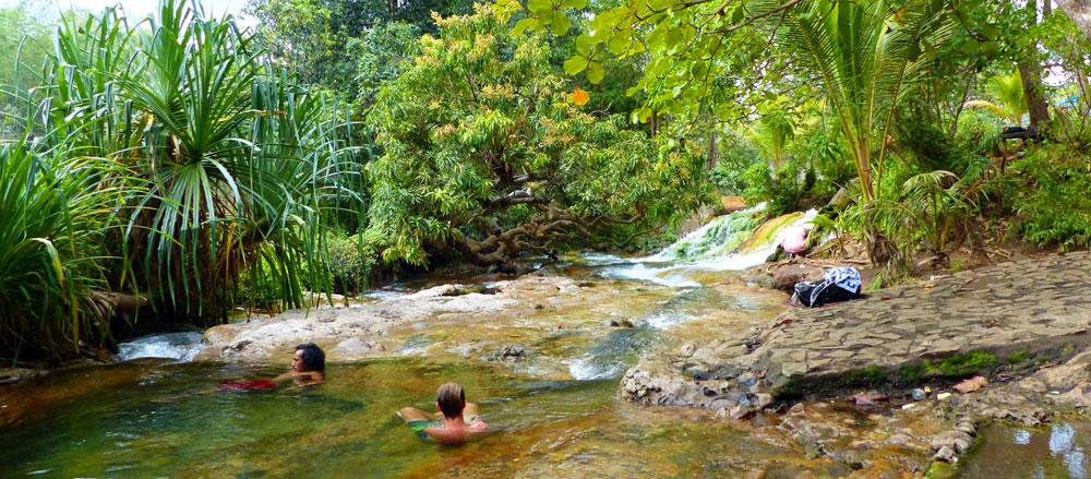Source d'eau chaude - Bajawa