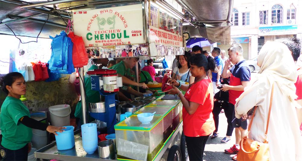 Où manger à Penang - Cendol