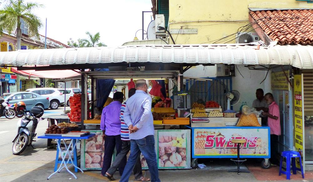 Où manger à Penang - Samosa