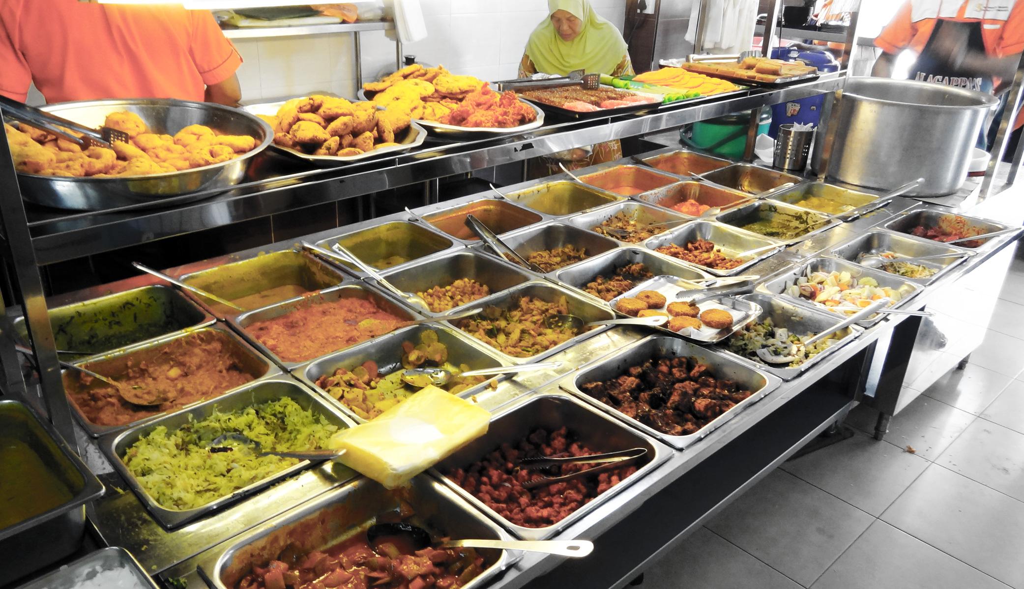 Où manger à Penang - Sri Ananda