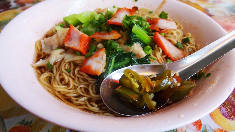 Où manger à Penang - Wantan Mee