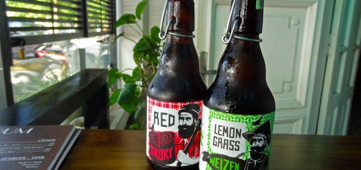 Bières de microbrasseries à Ho Chi Minh au Vietnam