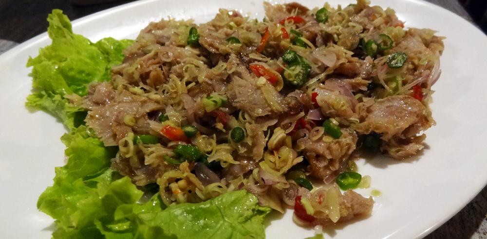 Warung Made Sayan à Ubud - Thon au sambal matah