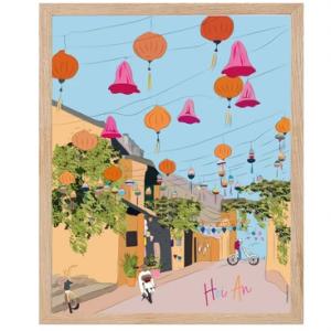 Affiche Hoi an Vietnam